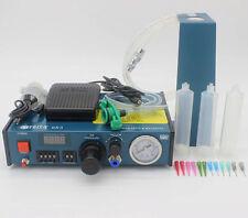 Auto Digital Glue Dispenser Tool Solder Paste Liquid Drop Machine 220V