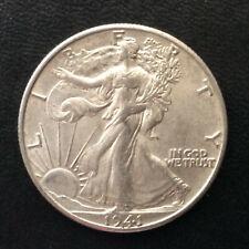 1941-P Liberty Walking Silver Half Dollar U.S. Coin A4809
