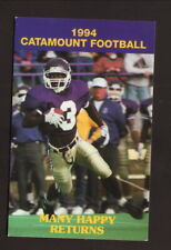 Western Carolina Catamounts--1994 Football Pocket Schedule--Coke/Sprite