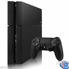 Refurbished Sony PlayStation 4 PS4 PS 4 500GB Jet Black Game Console