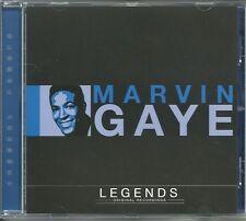 MARVIN GAYE LEGENDS CD - ORIGINAL RECORDINGS