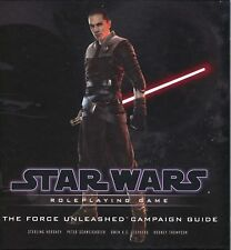 Star Wars Saga Ed The Force Unleashed Campaign Guide HC