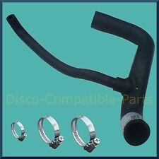 Land Rover Discovery 200 TDi Radiator Bottom Hose + Stainless Steel Hose Clamps