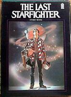 1984 Last Starfighter Story Book w Photos- British- UNREAD