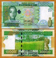 Guinea, 10000 (10,000) Francs, 2008, Pick 42, UNC > child