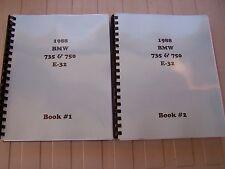 bmw 735i il 1988 1994 repair service manual