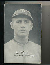 1922 Smokey Joe Wood Exhibit Baseball Card Cleveland