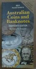 McDONALD AUSTRALIAN COIN & BANKNOTE CATALOGUE 2011 18th Edition SOFT COVER Book