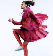 "Nike NIKELAB X Sacai Tech Fleece Sport Falda 716919-687 Rojo Tamaño S W29"" Nuevo"