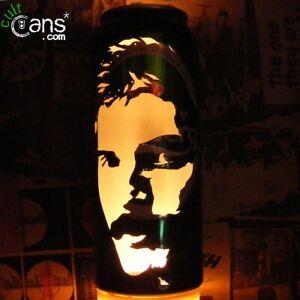 Freddie Mercury Beer Can Lantern! Queen Bohemian Rhapsody Pop Art Portrait Lamp