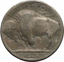 1928 BUFFALO NICKEL 5 Cents of United States of America USA Antique Coin i43716