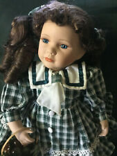 The Wimbledon collection 17 inch Blue eyed Porcelain Doll
