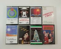 Christmas Cassette Lot of 8 Titles SEE DESCRIPTION FOR TITLES