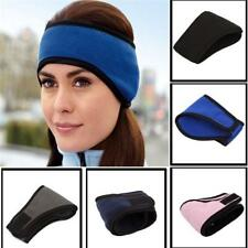 Unisex Ear Warmers Cover Headband Winter Sports Headwrap Fleece Ear Muffs SL