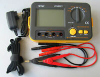 USA Seller VC480C+ 3 1/2 multimeter Digital Milliohmmeter with power supply Cord