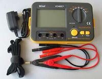 USA Seller VC480C+ 3 1/2 multimeter Digital Milliohmmeter with power supply Cord