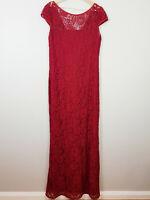 [ L'AMOUR Australia ] Womens Evening Cocktail Lace Dress |  Size AU 18 or US 14