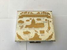 New listing Vintage Square Compact Souvenir of Washington Dc
