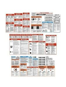 Wood Chipper Decal General Safety & Warnings Complete Decal Set