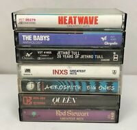 Lot of 7 Cassette Tapes ~ 70's, 80's, 90's, Rock, Greatest Hits