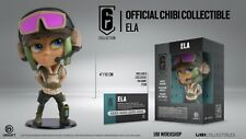 SIX COLLECTION FIGURE ELA RAINBOW SIX SIEGE UBISOFT CHIBI FIGURE + DLC CODE INC