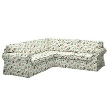 NEW IKEA EKTORP 4 SEAT CORNER SECTIONAL COVER SLIPCOVER ONLY  VIDESLUND FLORAL