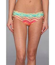 O'NEILL SUNSET CINCHED STRING TIE SIDE BIKINI BOTTOM MULTI SIZE XLARGE NWT! $38