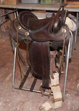 "14"" Bona Allen Western  Saddle with Stirrups NICE!"