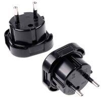 Travel Electric Socket Converter Uk To Eu Euro Plug Ac Power Charger Adapter