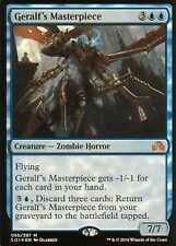 Geralf's Masterpiece FOIL | NM | Shadows over Innistrad | Magic MTG