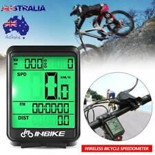 Wireless Bicycle Cycle Bike Computer Waterproof Speedometer Odometer Meter 💥AU