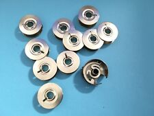 Spulenkapsel passend für Pfaff Industrie Nähmaschinen Umlaufgreifer +10 Spulen