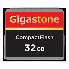 Dane-Elec/Gigastone 32GB Compact Flash CF Memory Card for Nikon D800 D200 D100