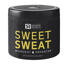 Sports Research SWEET SWEAT 13.5 oz Jar Workout Enhancer Skin Cream