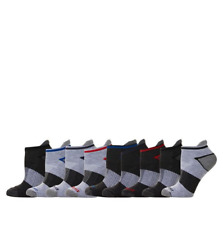 Copper Fit Fresh Touch Men's 9-pack Ankle Socks in Grey (HSN 649266)