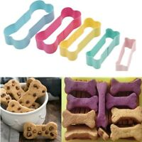5Pcs Dog Bone Shaped Biscuit Cookie Cutter Mold Pastry Baking Mould Tool DIY HOT