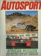 Autosport Jan 23rd 1986 *European Rallying Review*