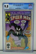 MARVEL COMICS CGC 9.8 SPECTACULAR SPIDER MAN 107 10/85 WHITE PAGES