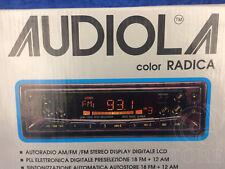 ►AUDIOLA FD 321 R◄AUTORADIO CASSETTE TAPE NEW NUOVA!! RADICA FONDO MAGAZZINO