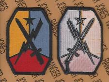U.S. Army Maneuver Center of Excellence MCOE dress uniform patch m/e Type 2