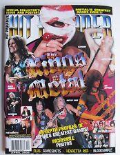 THE KINGS OF METAL SLIPKNOT LED BLACK SABBATH METALLICA AC/DC 2005 Hit Parader