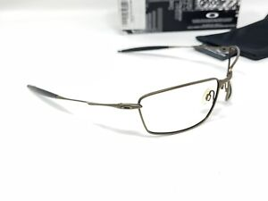 Oakley Square Whisker Sunglasses Frame Only Brown 30-938 No Lenses Need Nosepads