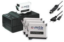 Chargeur (Black) + 4x Batterie AHDBT-401 / AHDBT401 pour GoPro Hero 4