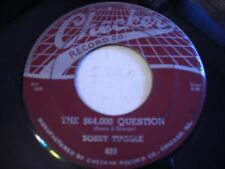 Bobby Tuggle The $64,000 Question / Too Late Old Man 1955 45rpm