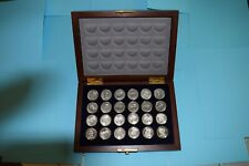 New ListingFranklin Mint Civil War Checkers Set with Display Case Rare Excellent Condition