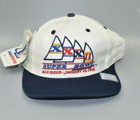 Vintage NFL Super Bowl XXXII Logo Athletic Snapback Cap Hat - NWT