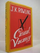 The Casual Vacancy by J. K. Rowling (2012, Hardcover) Large Print, Like New!!!