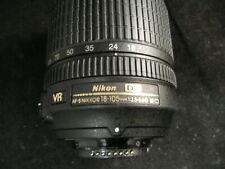 Nikon  DX AF-S Nikkor 18-105mm 1:3.5-5.6G ED DX SWM VR ED IF Aspherical