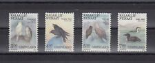 TIMBRE STAMP  4 GROENLAND Y&T#169-72 OISEAU BIRD  NEUF**/MNH-MINT 1988 ~C27