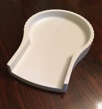 Jack LaLanne's Power Juicer Replacement Tray Base Overflow Part Cl-003Ap White